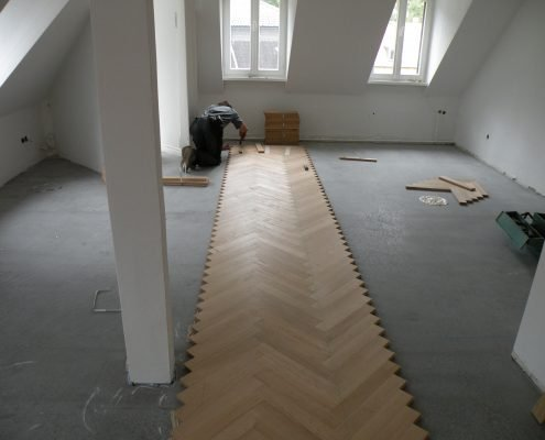 ZWEIK GmbH - Parkett Fischgrat Heidelberg 19